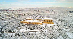 Ankara'da Kar Manzaraları